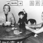 Romolo Siena in famiglia