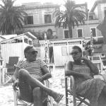 Romolo Siena e la moglie