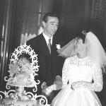 Romolo Siena e la moglie Ornella